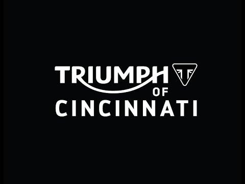 triumph of cincinnati - bobber video - youtube