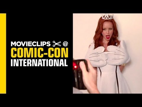 ComicCon: 'KickAss 2' Star Lindy Booth Takes Over THR's Lounge