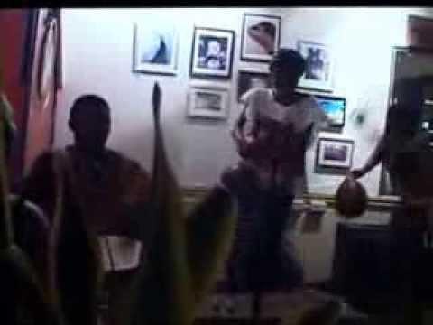 Burkina Fasso Dancers and Percussion Jam at Penguin circa 2007