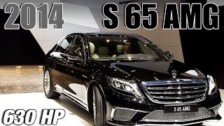 ► 2014 Mercedes S 65 AMG - WORLD PREMIERE