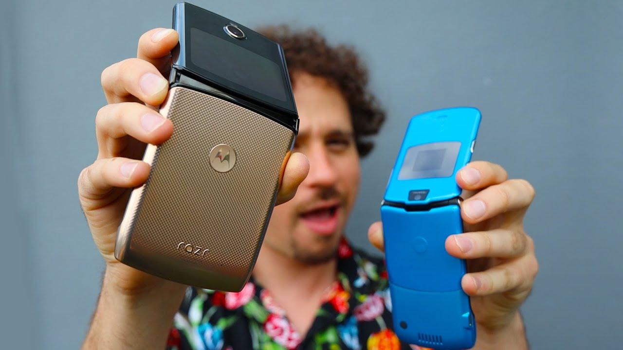 Tengo el teléfono Motorola que se dobla 😱   ¿Regresó la leyenda?   Moto Razr 2020
