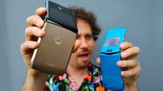 Tengo el teléfono Motorola que se dobla 😱 | ¿Regresó la leyenda? | Moto Razr 2020