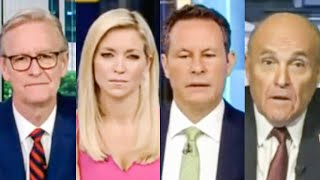 Fox & Friends Stare in Horror As Giuliani Incoherently Rants Against Biden