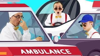 Rescue Cars Song for Kids - Super Simple Nursery Rhymes. Sing Along With Tiki.