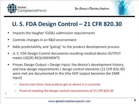 Design Controls - Requirements for Medical Device Developers