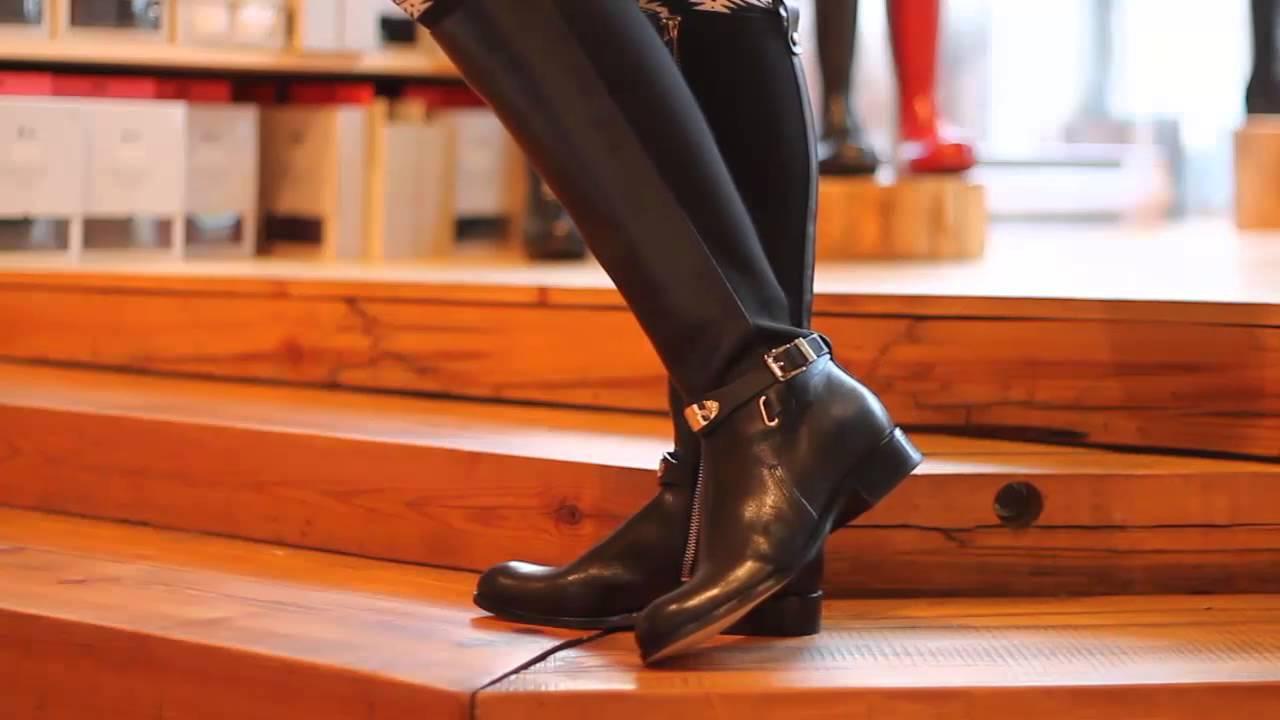 547526399af2 Michael Kors - Arley Stretch Boot in Black - YouTube