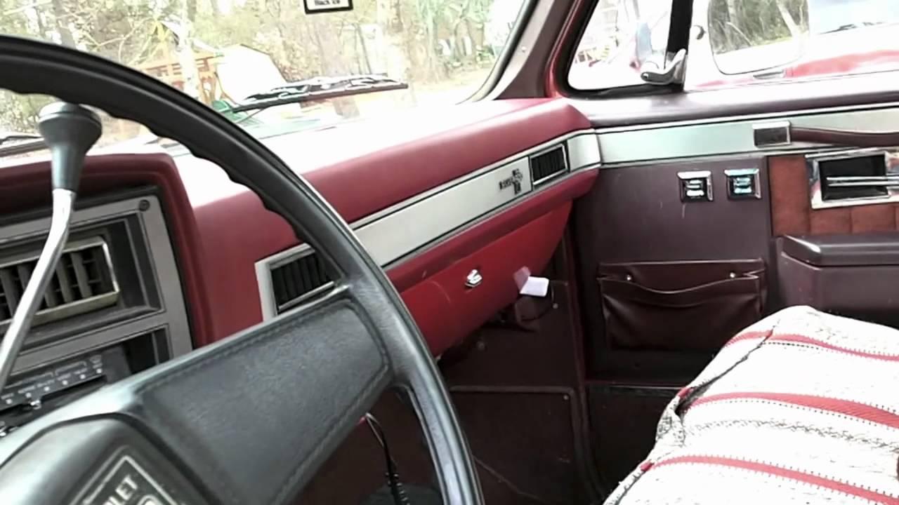 Chevy Truck Interior Door Panels