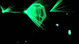 Лазерное шоу со стенда World Of Tanks с Игромира 2011
