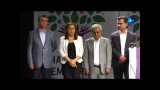 HDP Diyarbakır adaylarını tanıttı