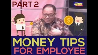 Money Tips for Employee (pt.2) - Armand Bengco