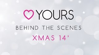 Yours Clothing Xmas Shoot Behind the Scenes