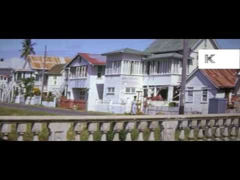1960s Guyana, Caribbean, 16mm Colour Home Movies