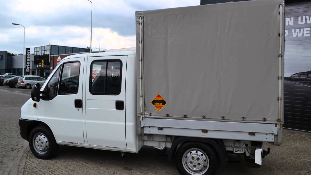 fiat ducato 2 8 jtd 93kw 4x4 dubbele cabine pickup 5950 youtube. Black Bedroom Furniture Sets. Home Design Ideas