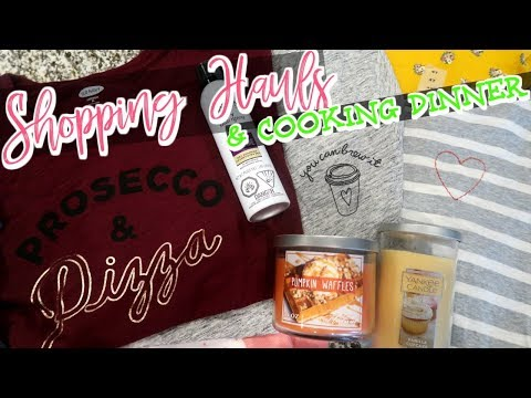 DITL VLOG | SHOPPING, ERRANDS, & EASY RAVIOLI BAKE | Cook Clean And Repeat