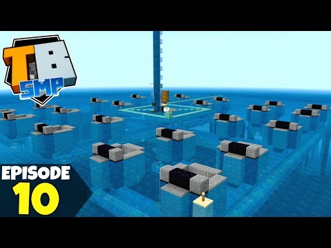 Truly Bedrock Episode 10! Improving The Guardian Farm! Minecraft Bedrock Survival Lets Play!