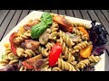 Pesto Pasta Salad Recipe Vegan, Starch Based