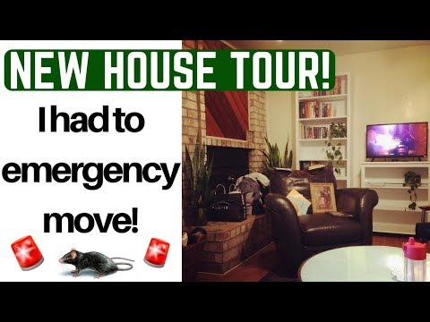 My Emergency Move 🚨 + New House TOUR!