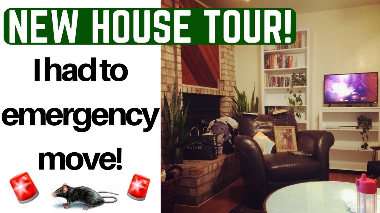 My Emergency Move New House Tour Youtube