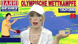 FACEBOOK Trailer Tischtennis Table Tennis Tenis de Mesa - Olympic Banni Sport Fan Style & Make-up