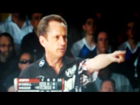Pete Weber (PDW) blowing up at the 2010 PBA Dick Weber Open