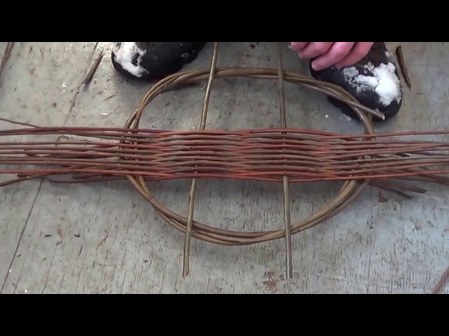 How to weave a Tension Tray
