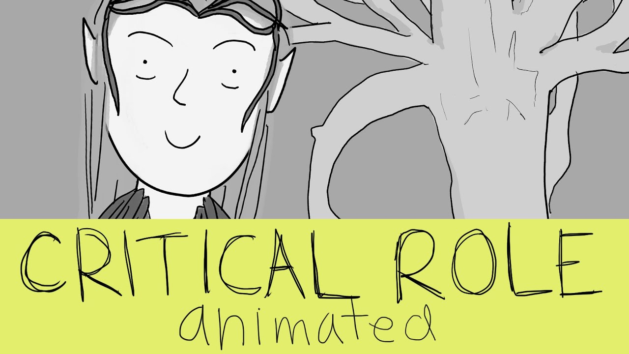 Critical Role Animated - Keyleth and the Sun Tree
