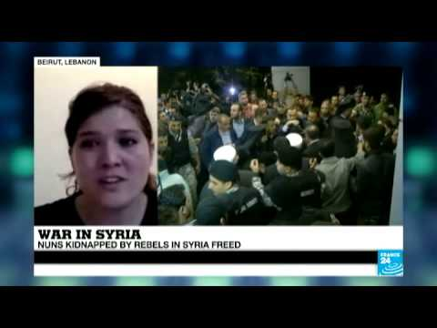 Syria: nuns kidnapped by rebels in Syria freed