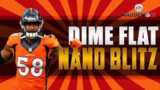 Video DIME FLAT  Double B gap  NANO Blitz | Defensive Tips | Madden 16 download MP3, 3GP, MP4, WEBM, AVI, FLV September 2018