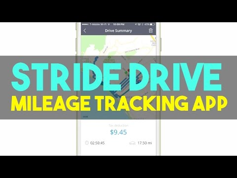 Stride Drive Free Mileage Tracking App Review   Helps Drivers Get Maximum Tax Deduction