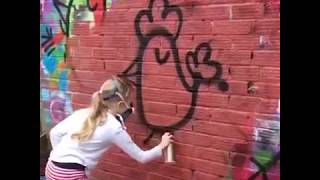 Bint Graffiti Character