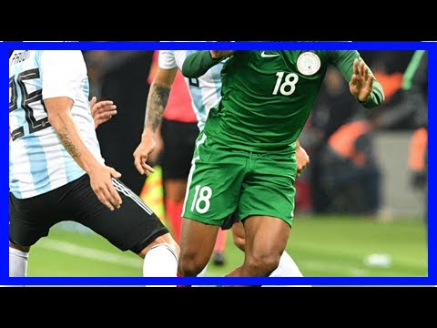 Sport News - Nigeria shocked argentina, claims win in a friendly international 4-2
