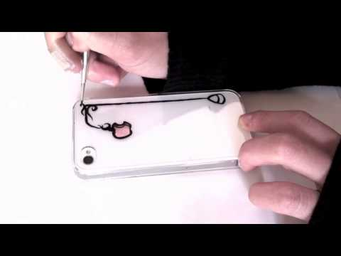 How to paint iphone case : Kissing under the light