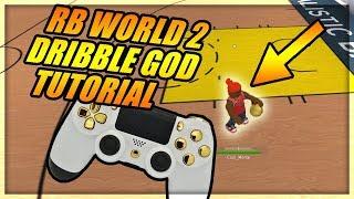 RB WORLD 2 DRIBBLE GOD TUTORIAL - ROBLOX RB World 2 Controller Setup Video