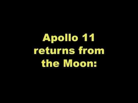 Apollo 11. Re-entry.