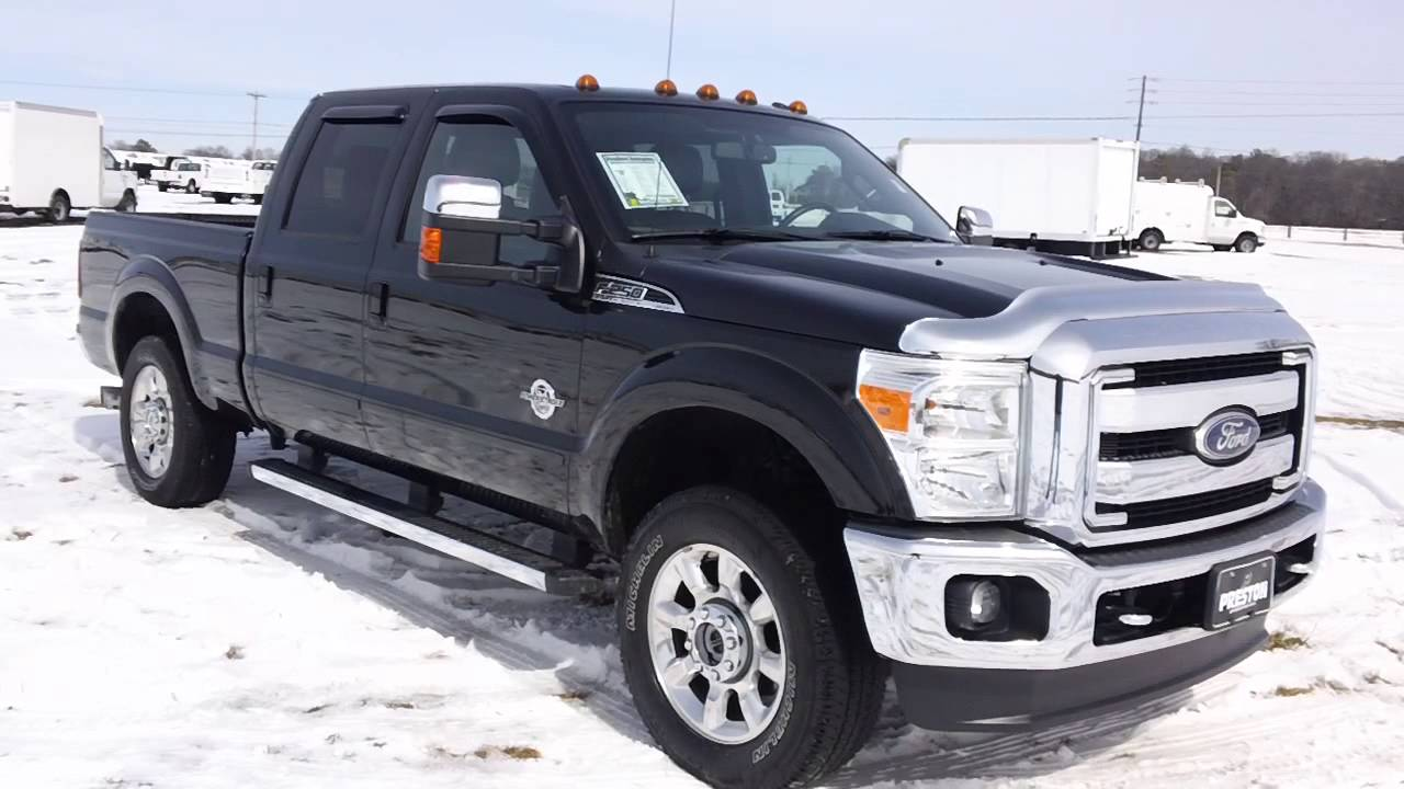 2011 ford f250 lariat diesel 4wd used trucks for sale in maryland dx49726b youtube. Black Bedroom Furniture Sets. Home Design Ideas