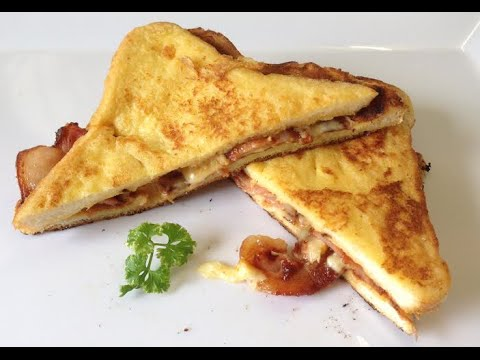recipe: french toast with bacon and cheese [9]