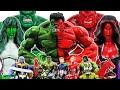 Avengers vs Thanos! Go~! Iron Man, Captain America, Spider-Man, Venom, Hulk, She-Hulk