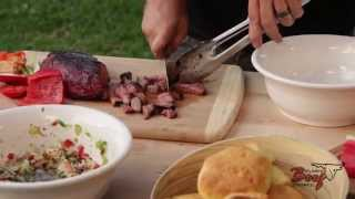 "Labor Day Recipe Bbq Beef Biscuit Sliders ""sizzle And Sear"" With Chef Nathan Lippy"