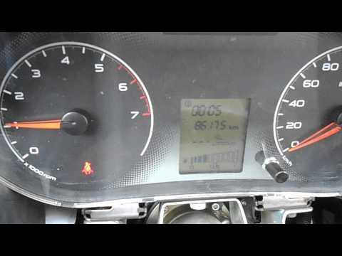 Замена панели приборов и температура двигателя на лада гранта
