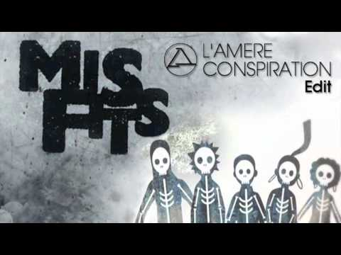 MISFITS Theme Tune : The Rapture - Echoes ( L'Amère Conspiration Edit )