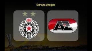 Partizan vs AZ Alkmaar UZIVO / LIVE PRENOS LINK