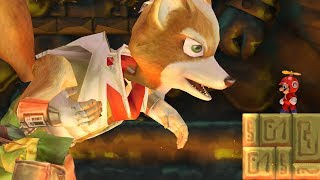 Evil Fox Fight in New Super Mario Bros. Wii