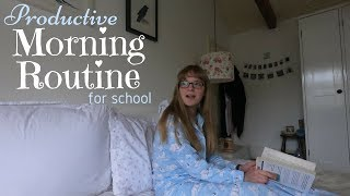 One of Ruby Granger's most viewed videos: School Morning Routine || Extremely Productive (6am)