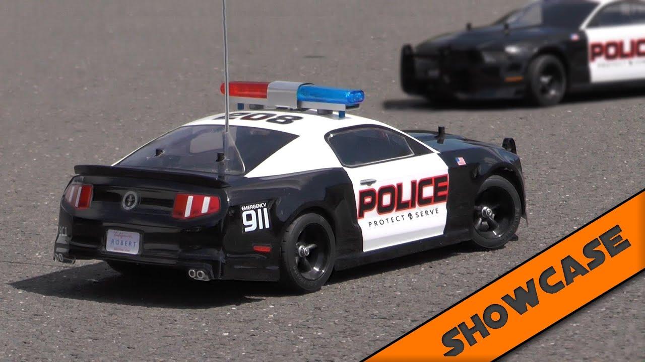 Tamiya Ford Mustang Police Car 2 Showcase Tt 01