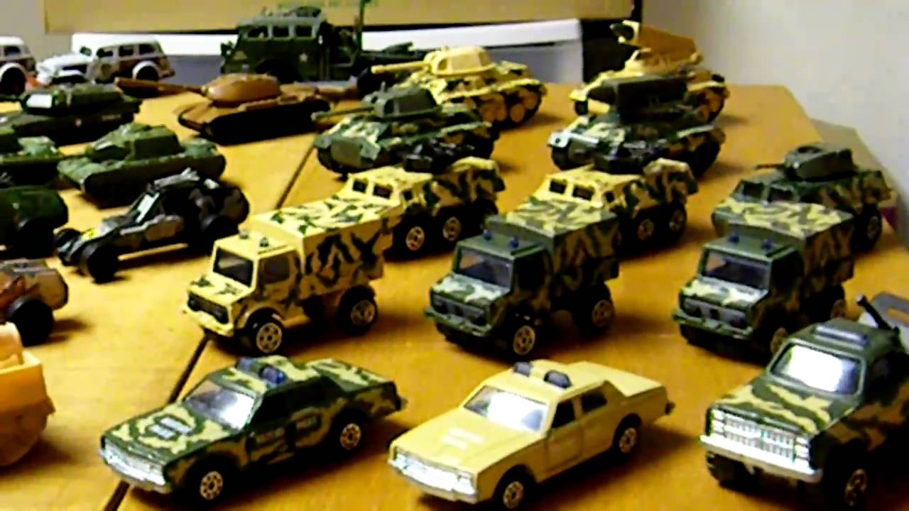 Us Army And Military Hot Wheels And Others Huge Collection Youtube