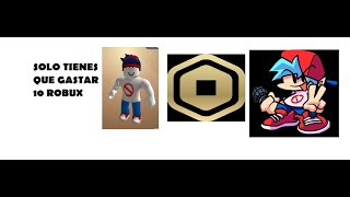 ROBLOX COMO SER BOYFRIEND (Keith) DE FRIDAY NIGHT FUNKIN CON SOLO GASTAR 10 ROBUX