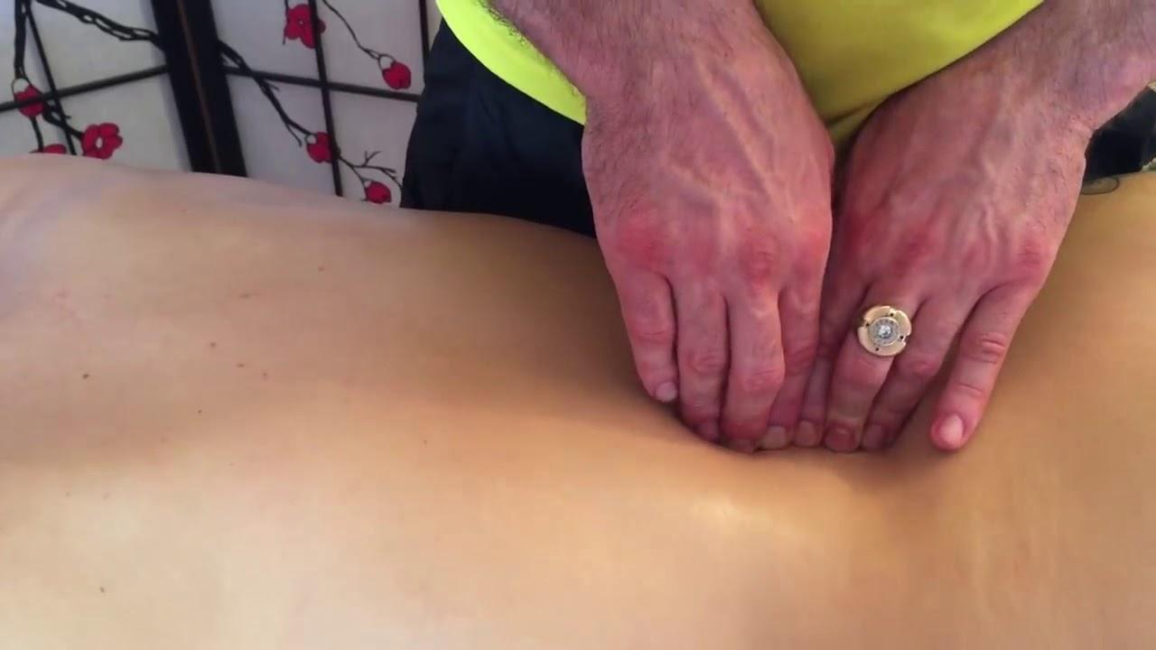 Убрать боли в спине, как вылечить остеохондроз и радикулит с помощью массажа! Обучение
