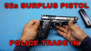 Video Classic Firearms - Beretta 92s Good / Very Good Condition Italy Police 9mm download MP3, 3GP, MP4, WEBM, AVI, FLV Juni 2018
