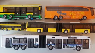 Toy MAN BUS SIKU Articulated Bus MAN BUS Unboxing - Toys Buses Review