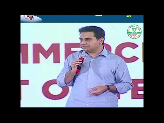 Minister KTR on TS-iPASS || 5th Anniversary Celebrations of TSiPASS || ShilpakalaVedika || Hyderabad